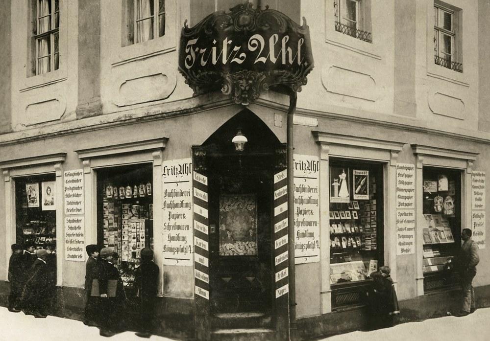 Königsplatz 14, Uhl um 1905 - 2b klein